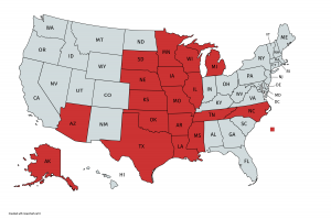 States we've sung in 2